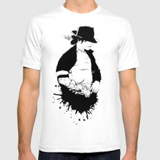 MJ - It Don't Matter White Mens Fitted Tee SMALL