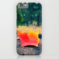 iPhone & iPod Case featuring Autumn details by Vorona Photography