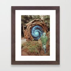 Be Of The Forest Framed Art Print