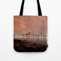 Tide Dance Tote Bag