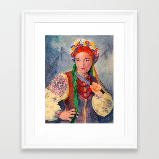 Gretchen Framed Art Print