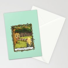 The March Hare and the Hatter Stationery Cards