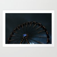 The wheel of life Art Print