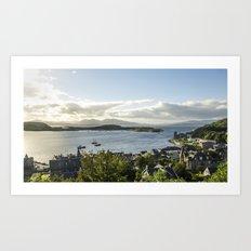 Oban Bay View Art Print