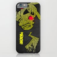 iPhone & iPod Case featuring Pikachu Typography by Flatline