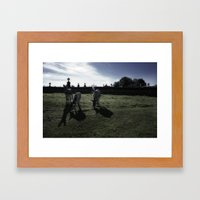Auvergne Framed Art Print