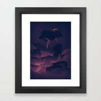 See Rainbow In The Dark Framed Art Print