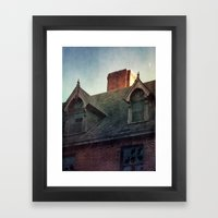 The Ward Framed Art Print