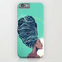 iPhone & iPod Case featuring Erykah Badu by Dushan Milic