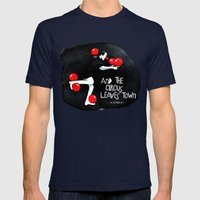 Circus - Balance Mens Fitted Tee Navy SMALL