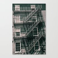 Ladders Galore Canvas Print