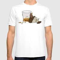 Thirsty Grouse - Colored… Mens Fitted Tee White SMALL