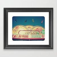 CandyLand ~ Vintage-feel… Framed Art Print