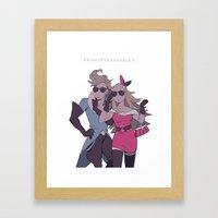 Fashion What? Framed Art Print