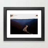 Morning View From Cooper… Framed Art Print