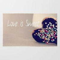 Love is Sweet  - JUSTART © Rug