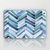 Cycladic Chevron Laptop & iPad Skin