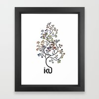 iku Tree Framed Art Print