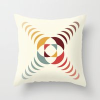 Good Vibratons [Crosses] Throw Pillow
