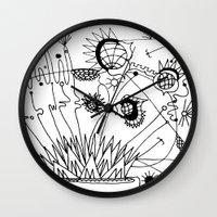 Trip the Light Fantastick Wall Clock