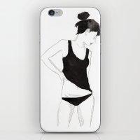 Ink Girl iPhone & iPod Skin