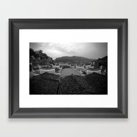 Phoenix China Framed Art Print