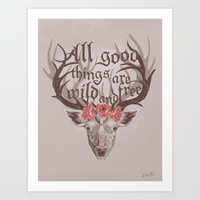 All Good Things Art Print