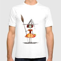 Little Witch Mens Fitted Tee White SMALL