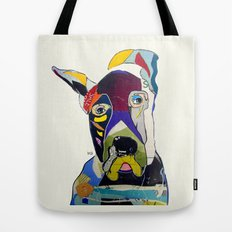 Wally the great dane Tote Bag