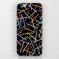 Kerplunk Black iPhone & iPod Skin