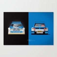 Group B Edition, N.º5, MG Metro 6R4 Canvas Print