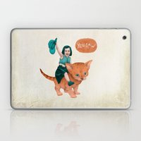 Kitty Cowgirl Laptop & iPad Skin