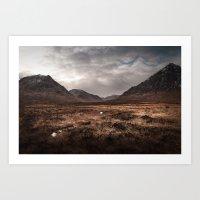 Mountain Moors Art Print
