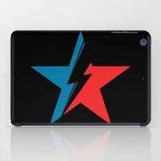 Bowie Star black iPad Case