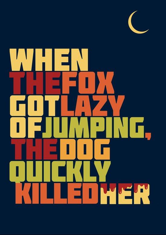 That Lazy Fox Art Print