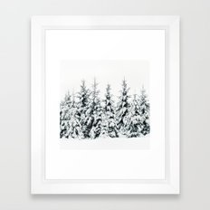 Snow Porn Framed Art Print
