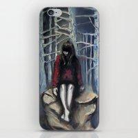 Girl #3 iPhone & iPod Skin