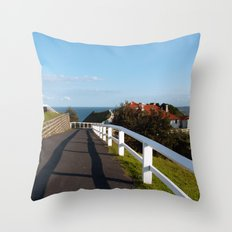Walkway to Byron Bay, Australia Throw Pillow