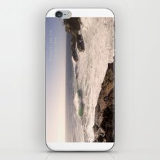 Wherever you are - be all there. iPhone & iPod Skin