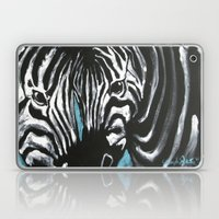 Eye Of Contrast {Zebra L… Laptop & iPad Skin