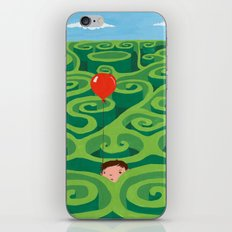 The Maze iPhone & iPod Skin
