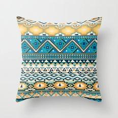 aztèques yoaz Throw Pillow