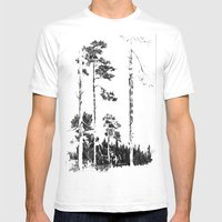 Birch  Mens Fitted Tee White SMALL
