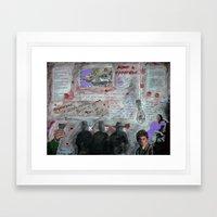 ROOM N. 5 Framed Art Print