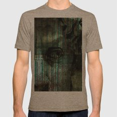 DEUS Mens Fitted Tee Tri-Coffee SMALL