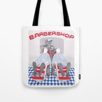 Barbershop Tote Bag