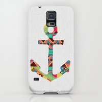 Galaxy S5 Cases featuring you make me home by Bianca Green