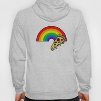 pizza rainbow Hoody