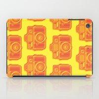 I Still Shoot Film Holga Logo - Yellow & Red iPad Case