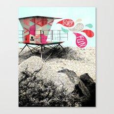 SURF.SUN.FUN. Canvas Print